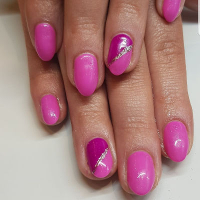 The Gel Bottle Pink Manicure in Polished Beauty, Skin & Laser Experts in Tallow in West Waterford - www.polishedtallow.ie