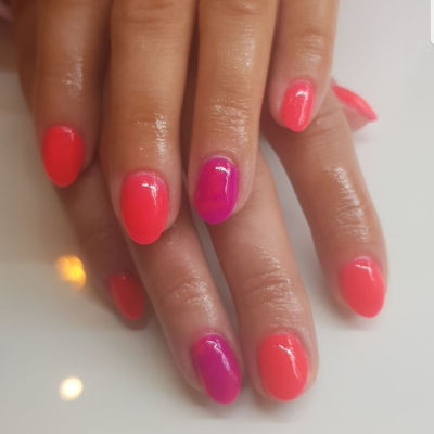 Kiara Sky Coral Manicure in Polished Beauty, Skin & Laser Experts in Tallow in West Waterford - www.polishedtallow.ie