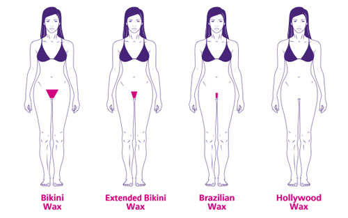 Types of Bikini Waxing in Polished Beauty, Skin & Laser Experts in Tallow in West Waterford - www.polishedtallow.ie