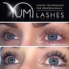 Yumi Lashes - before and after - by Polished Beauty, Skin & Laser Experts in Tallow in West Waterford - www.polishedtallow.ie